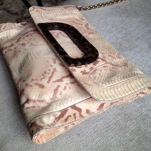 Rare Elaine Turner Anthropologie chain bag purse